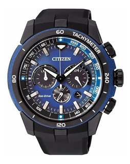 Reloj Citizen Ca415504l Ecodrive Cronómetro Taquímetro Wr100
