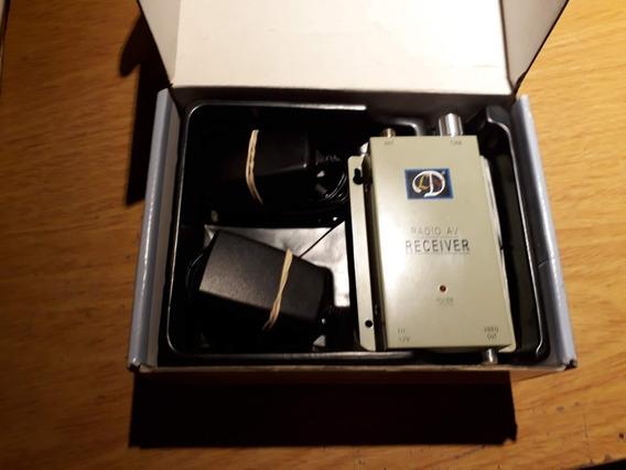 Transmisor Video Inalámbrico Con Camara Tipo Espia