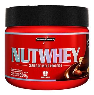Nutwhey Creme De Avelã Proteico (200g) Integral Val 10/2019