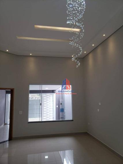 Casa Com 3 Dormitórios À Venda, 108 M² Por R$ 380.000 - Loteamento Planalto Do Sol - Santa Bárbara D