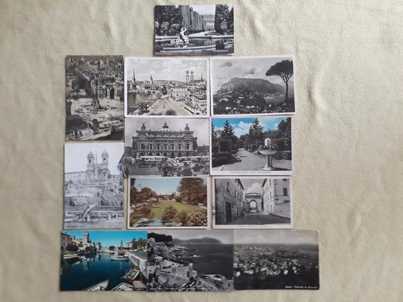 Europa, Lote De 12 Postales