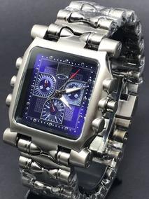 Relógio Tank Minute Machine Oakley Azul Com Caixa
