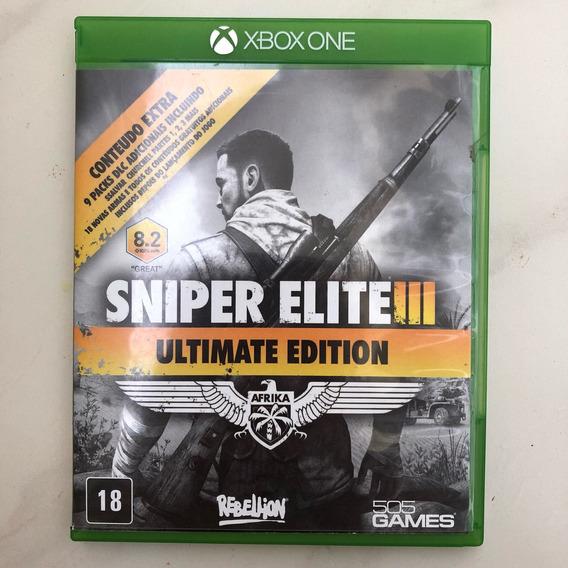 Sniper Elite Iii Ue- Xbox One