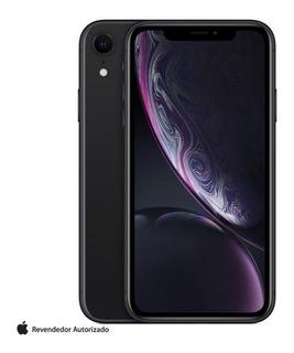 iPhone Xr Preto Com Tela De 6,1 , 4g, 128gb 12mp - Mry92bz/a