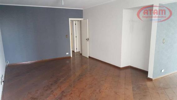 160m2 - Aptº Excelente Com 3 Suites - 3 Vagas - Ap1628