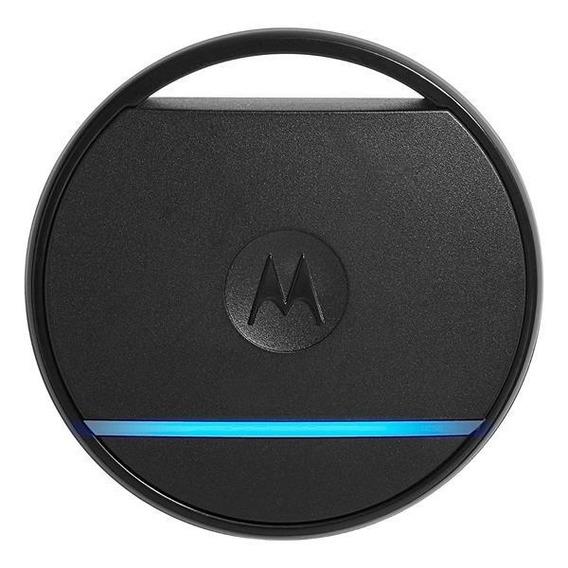 Localizador Motorola Ac001 Smart Tag Com Bluetooth - Preto