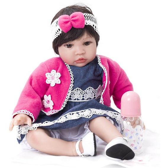 Boneca Bebê Reborn Menina Linda Kaydora Yasmin Original