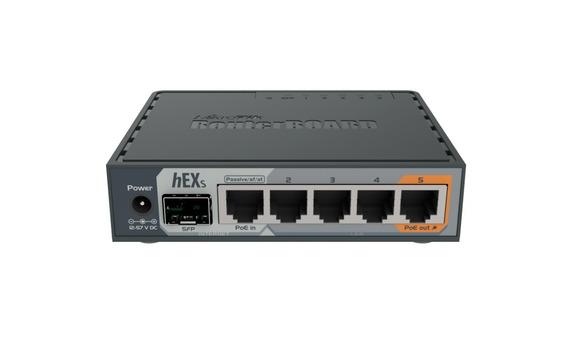 Mikrotik Rb760igs Hex S 5 Gigabit 1 Sfp Dual Cpu 880 Mhz Usb