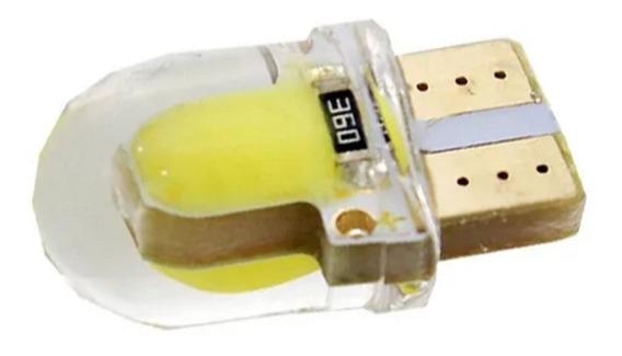Lampara T10 Cob Blanca Silica 2821 W5w 6 Led Blister X 2