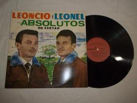 Lp Leoncio E Leonel Absolutos Do Sertão + Pedro Bento Canço