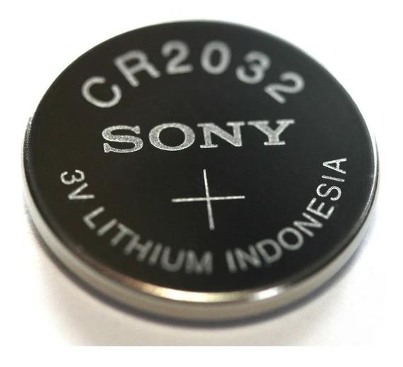 Bateria Cr2032 Sony 3 Volts - 5 Unidades Originais