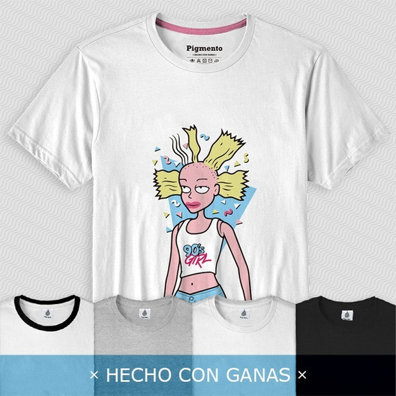 Cynthia Doll Rugrats (angelica Pickles) - Remera Algodón