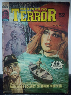 Hq Mestres Do Terror Nº 52 - Editora D - Arte 1990 Rjhm