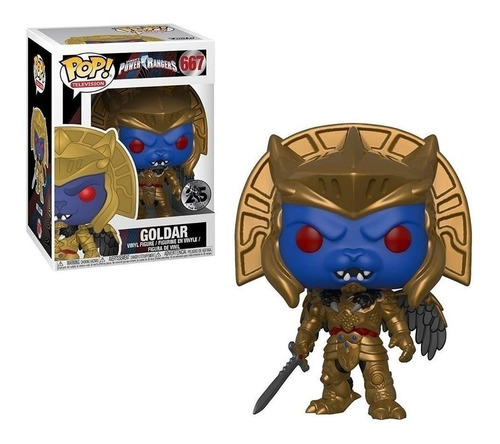 Funko Pop! Goldar #667 - Power Rangers - 25 Años