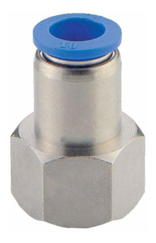 Pbt  Nickel Plated Brass Push To Connect Tube Fitting ...