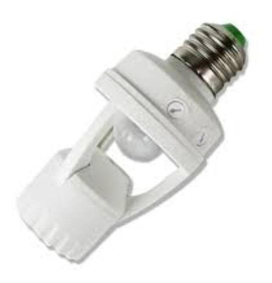 Sensor Bocal Lampada Automático Com Ajuste De Tempo