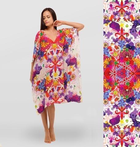 Tunica Vestido Para Dama Con Diseño Mandala Casa Florecer