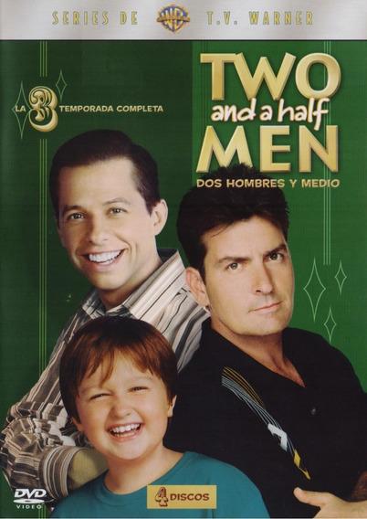 Two And A Half Men Dos Hombres Y Medio Temporada 3 Tres Dvd