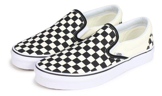 Sneaker Vans Classic Slip-on Estampado Contraste Casual