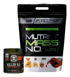 Mutant Mass 5 Kg Star Nutrition + Killer 5.0 Generation Fit
