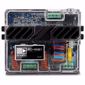 Módulo Amplificador Digital Banda Bd 250.1 Ch 250 Wrms 4ohm