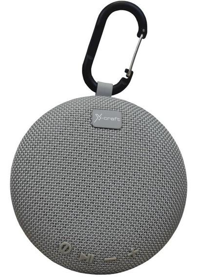 Caixa De Som Bluetooth X-craft X5 Cinza 5w Resistente À Ág