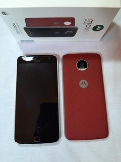Motorola Moto Z Play L Completo Na Caixa Novo.