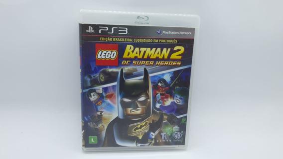 Lego Batman 2 Dc Super Heroes - Ps3 Mídia Física Cd Original