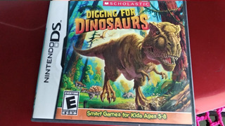 Digging For Dinosaurs Nintendo Ds Juego