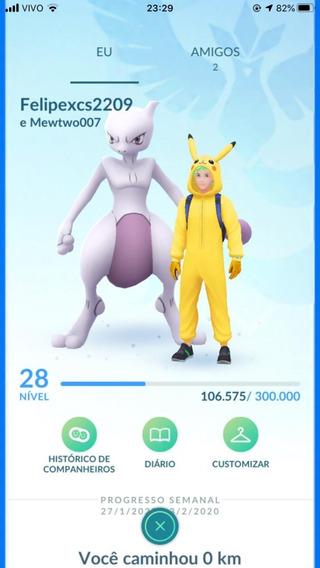 Pokémon Go Serviços Conta