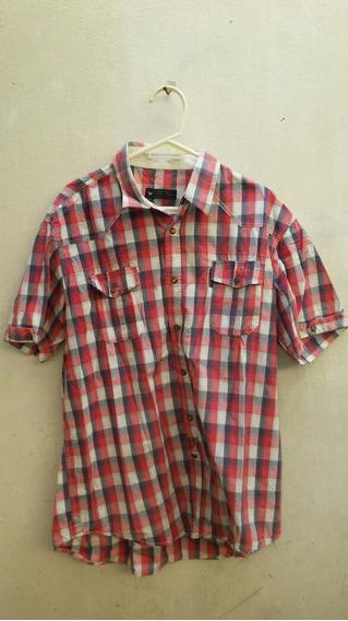 Camisa Cuadras Moderna Hang Loose L Remato Hay Mas De 300