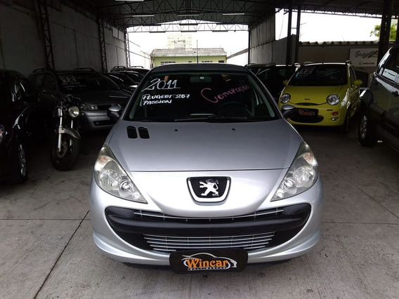 Peugeot 207 Sedan Passion Xr 1.4 8v Flex 4p 2011