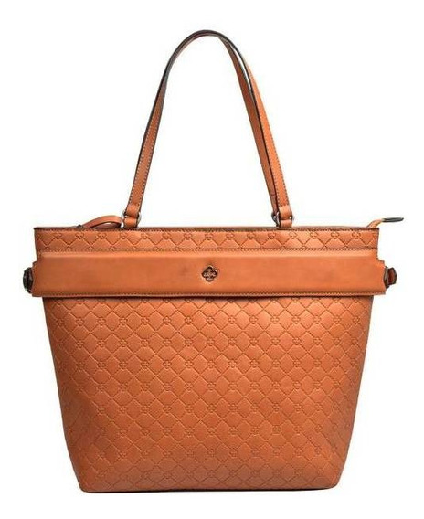 Bolsa Capodarte Grande Monograma Shopper C/ Zíper 4602821