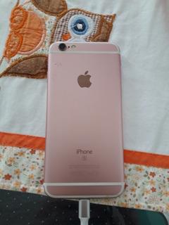 Celular iPhone 6s 16 Gb Rose Novinho.com 10 Capinhas 8 Meses
