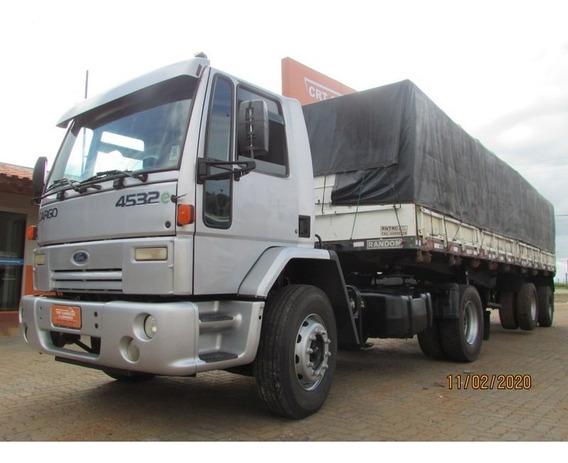 Ford Cargo 4532 Carreta 2 Eixos Graneleira