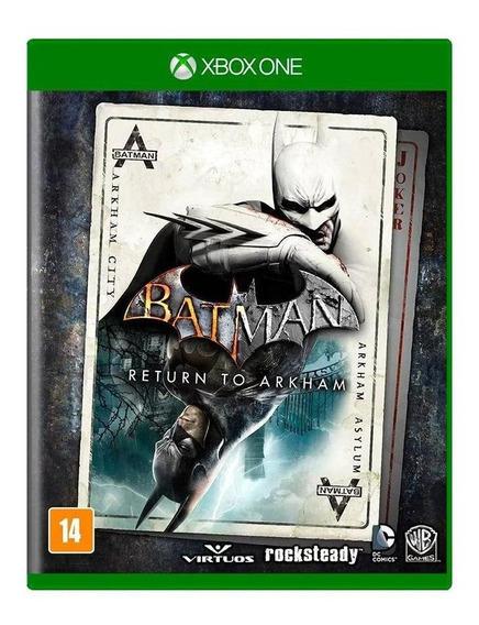 Batman Return To Arkham Xbox One Mídia Física Novo Lacrado