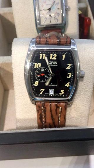 Relógio Oris Tonneau Regulator Date Automático Cal 7471