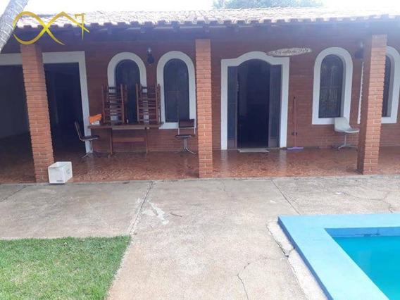 Chácara Com 3 Dormitórios À Venda, 1000 M² Por R$ 750.000 - João Aranha - Paulínia/sp - Ch0100