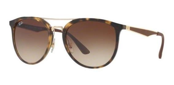 Oculos Sol Ray Ban Rb4285 710/13 55mm Havana Marrom Degradê