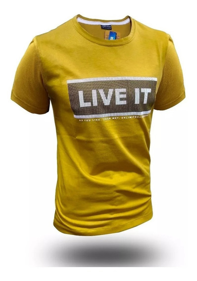 Remera Moda Live It