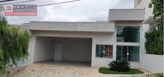 Casa Para Locação No Condomínio Porto Do Sol - Ca0132