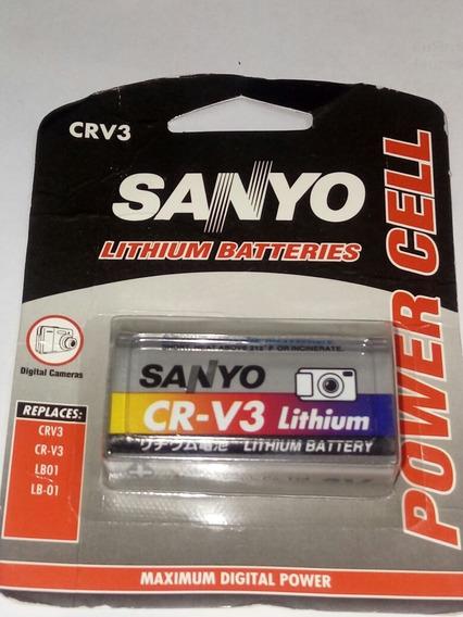 Bateria Pilha Cr V3 Sanyo Lithium Promoção Envio Imediato