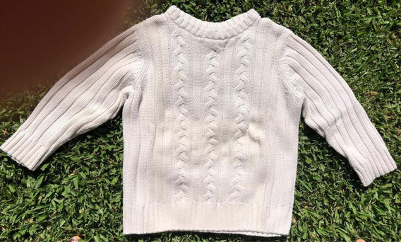 Sweater De Hilo Crema Old Navy - Talle 5