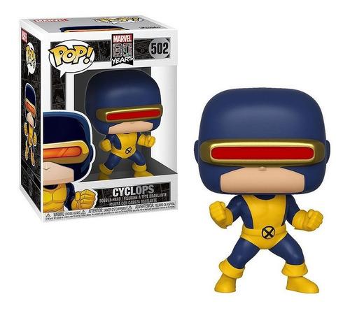 Funko Pop Figura Marvel X-men Ciclope Int 40714 Orig Wabro