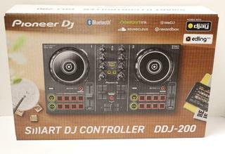 Controlador Pioneer Dj Ddj 200 Bluetooth, Usb 2ch Nortvision
