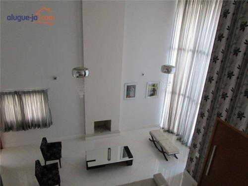 Casa Com 4 Dormitórios À Venda, 300 M² Por R$ 1.590.000,00 - Condomínio Residencial Jaguary - São José Dos Campos/sp - Ca2577
