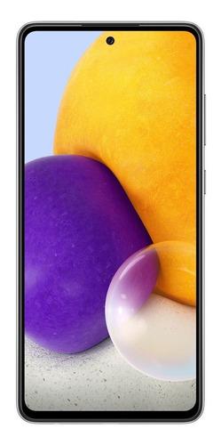 Celular Smartphone Samsung Galaxy A72 A725m 128gb Azul - Dual Chip