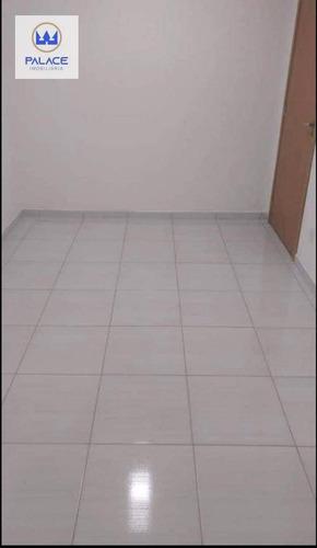 Apartamento Com 2 Dormitórios Para Alugar, 54 M² Por R$ 600/mês - Campestre - Piracicaba/sp - Ap0740