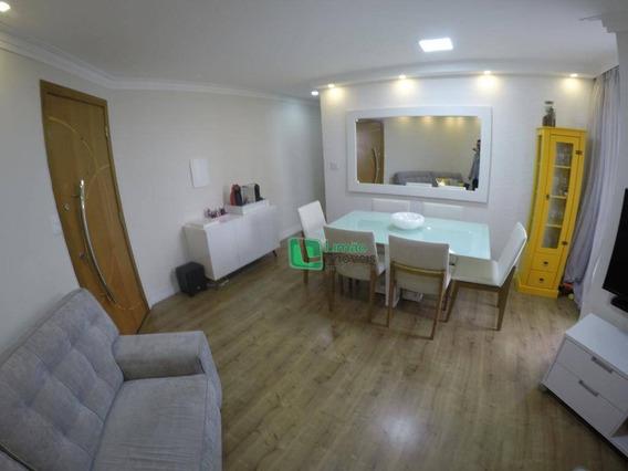 Apartamento Com 2 Dormitórios À Venda, 58 M² Por R$ 320.000 - Limão - São Paulo/sp - Ap1156