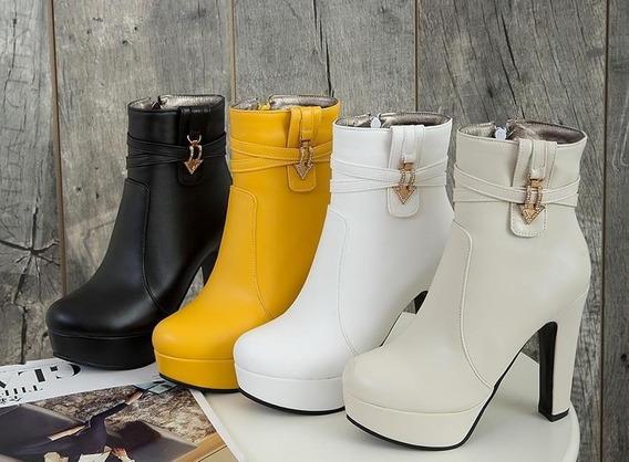 Ankle Boot Feminina Wetkiss 36785 Importado Frete Grátis